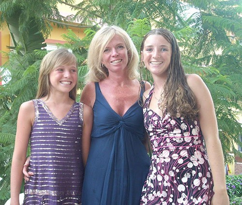 Jacqueline Watt, with my daughters